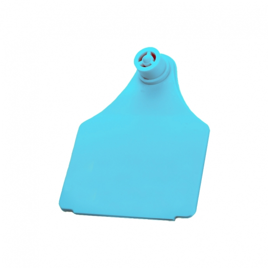 Бирка с металлическим наконечником ARDES L 60х75, голубая
