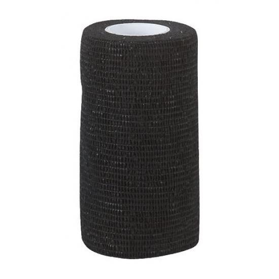 Самоклеящийся бандаж  ВТС 10х450 см, черный