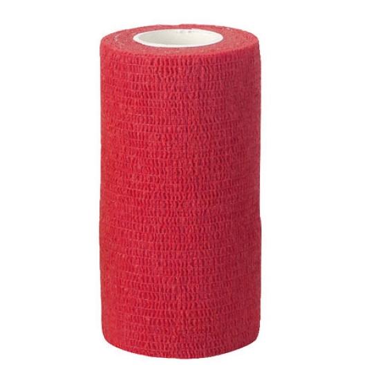 Самоклеящийся бандаж  ВТС 10х450 см, красный
