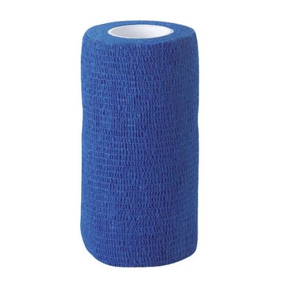 Самоклеящийся бандаж  ВТС 10х450 см, синий