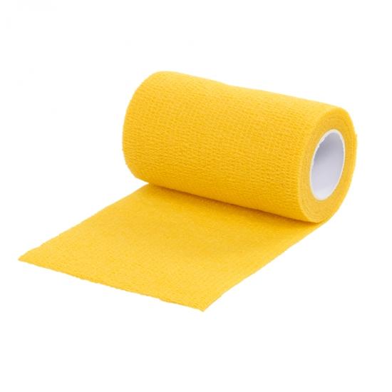 Самоклеящийся бандаж  ВТС 10х450 см, желтый