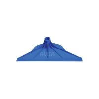Скребок для навоза синий, пластмассовый, 36 см.